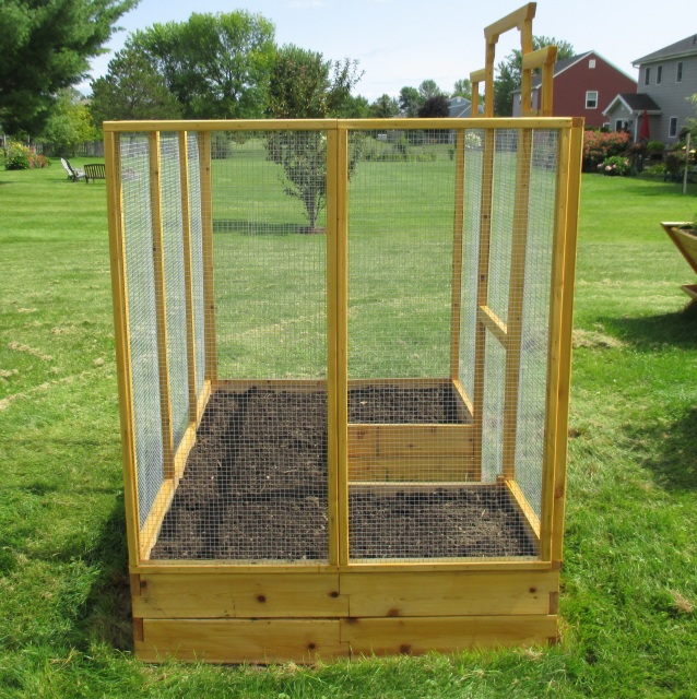 Deer Proof Raised Bed Garden Kit
