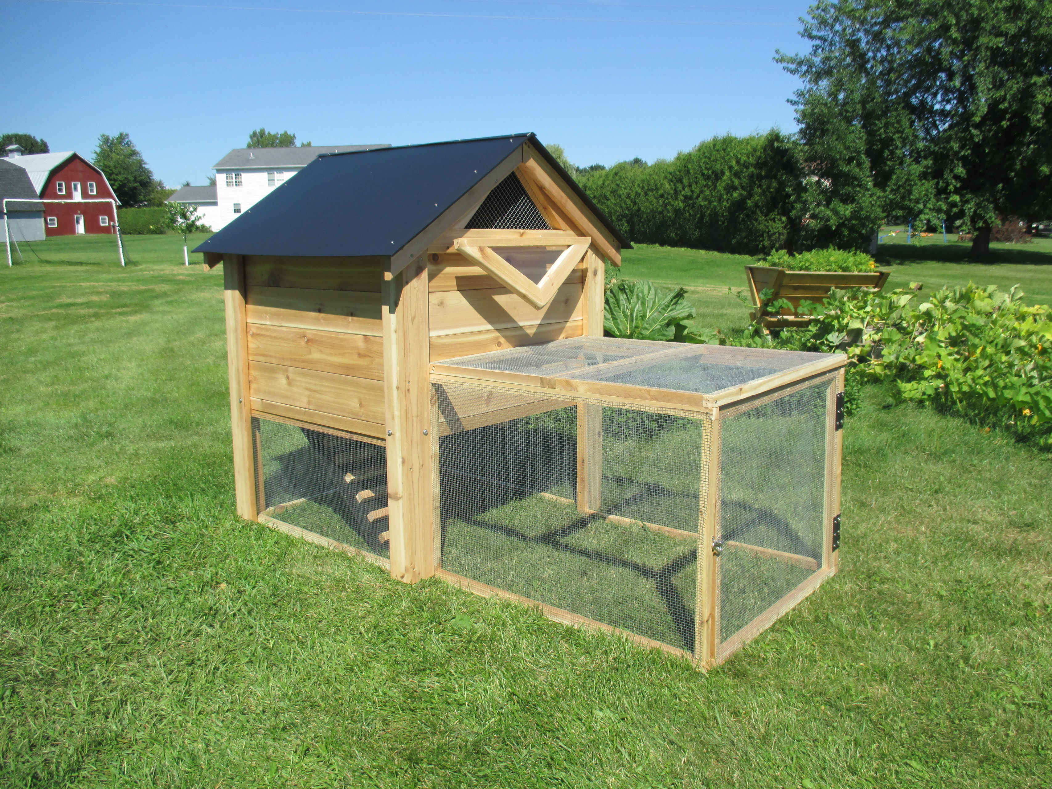 the ultimate backyard chicken coop with run by infinite cedar
